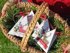 Freude im Advent - ein gratis Stempelset wartet auf dich bei Stampin up!  Gratis Stampin Up! Stamp set: Merry Patterns!