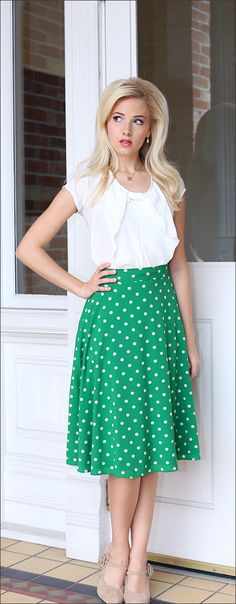 Full Skirt Mid-Length [BSS1428] - $44.99 : Mikarose Boutique, Reinventing Modesty