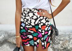 Statement skirt