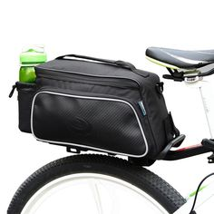 Cheap roswheel cycling, Buy Quality roswheel cycling bike directly from China bike bag Suppliers: High Quality ROSWHEEL Cycling Bike Bag Carbon Fiber Leather Bicycle Rear Rack Seat Pannier Bag Pouch Panniers Bicycle Panniers, Bicycle Bag, Mtb Bicycle, Cycling Bag, Cycling Bikes, Cycling Equipment, Bicycle Rear Rack, Bike Saddle Bags, Cycle Storage