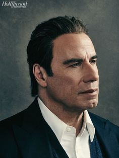 "John Travolta of ""American Crime Story,"" photo by Miller Mobley"