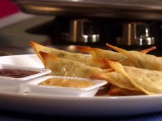 Get The Crab Rangoonies Recipe from Food Network