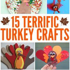 Terrific Turkey Crafts