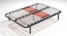 Somieres Planos MULTILÁMINAS TACO DE CAUCHO | Somier fijo con estructura metálica en tubo de acero de 40x30mm y sistema multiláminas de haya vaporizada que se combinan proporcionando una perfecta adaptación al peso corporal y un descanso personalizado mediante tensores | Encuentra toda la información de este producto en http://www.mejordescanso.com/somieres-y-bases/somieres-planos-sensus.html