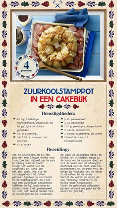 Zuurkoolstamppot in een cakeblik - Lidl Nederland