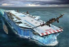 De murciélagos explosivos a portaaviones de hielo: los planes más extravagantes de la II GM
