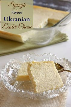 Syrnyk - Sweet Ukranian Easter Cheese - Cupcakes & Kale Chips