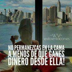 Si despiertas sin sueños que CUMPLIR, vuelve a la cama a DORMIR!!!  -WV-  Síguenos por Instagram @exitoentaconeswv   #exitoentacones #frase #oportunidades #businesswoman #boss #vision #focus #lifestyle #motivacion #sueños #objetivos
