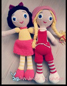 Amigurumi doll,handmade by davsan