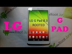 How to Root the LG G Pad 8.3 - http://www.thehowto.info/how-to-root-the-lg-g-pad-8-3/