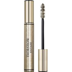 Diorshow Extase mascara ($38) ❤ liked on Polyvore featuring beauty products, makeup, eye makeup, mascara, black, volumizing mascara, christian dior mascara, voluminous mascara, black mascara y black eye makeup
