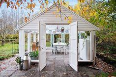 Pictures, Garden, Greenhouses, Conservatories, Stone Flooring - Hemnet Inspiration