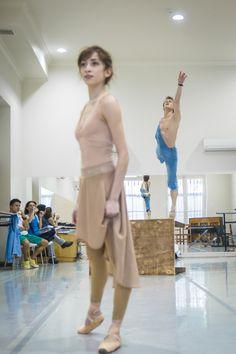 Ensayo El joven y la muerte. Ballet de Santiago. Foto: Patricio Melo