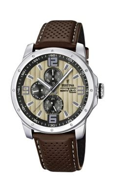 b2b7173124 Festina Chrono Bike 2012 Quartz Watch with Beige Dial Analogue Display  Product dimensions - x x inches, Shipping weight - pounds (View shipping  rates and ...