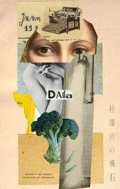 Collage DADA 2014 W. Strempler Tumblr
