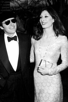 Jack Nicholson & Angelica Huston