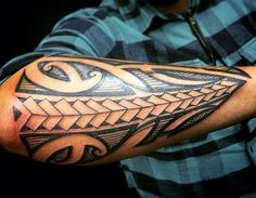 Maori Tattoos - Photos of tattoos and their meanings - Best Tattoo Models Maori Tattoos, Maori Tattoo Meanings, Tattoos Bein, Ta Moko Tattoo, Native Tattoos, Tribal Arm Tattoos, Filipino Tattoos, Bild Tattoos, Sun Tattoos