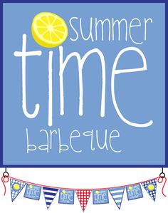 Lauren Kinsey Free Printables http://laurenmckinsey.com/summer-time-bbq-collection/