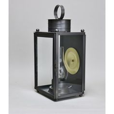 This single stack wall lantern is a mix of clean lines, bold appeal, traditional details, and quality craftsmanship. Hand-crafted to order of solid brass and/or copper (depending on your choice of finish), this fixture features, a prominent 100W max Edison base with a classic hurricane, a polished brass reflector plate, and a latched door for easy bulb access. Proudly made by a family-owned and operated company in the heart of Litchfield County, CT for 40+ years. Fixture Finish: Gun Metal, Shade Outdoor Wall Lantern, Outdoor Walls, Outdoor Lighting, Polished Brass, Solid Brass, Litchfield County, 40 Years, Clean Lines, Lanterns