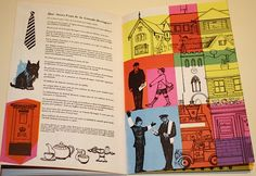 Brussels Expo 1958 catalogue for British Pavilion Barbara Jones illustration
