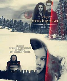 """The Twilight Saga's Breaking Dawn Part 2: Bella, Edward, Nessie and Aro. """"I thought we would be safe forever, but forever isn't as long as I'd hoped."""""""