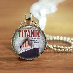 Titanic Pendant Titanic Necklace Titanic Jewelry Titanic
