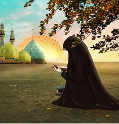Muslim Photos, Muslim Images, Islamic Images, Anime Muslim, Muslim Hijab, Muslim Girls, Muslim Couples, Film Anime, Anime Art