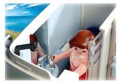 Playmobil -Grand camping-car familial - 4859 - Salle de bain