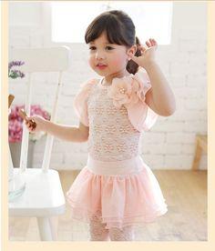 ☆正版韓國童裝名牌coco ribbon 粉色雕花精緻花朵上衣 $550