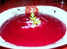 zupa- krem z burakow Food And Drink, Pudding, Custard Pudding, Puddings