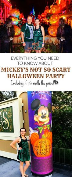 Everything you need to know about Mickey's Not So Scary Halloween Party, including tips if you are going and what to consider if you're not sure if you should buy a ticket!