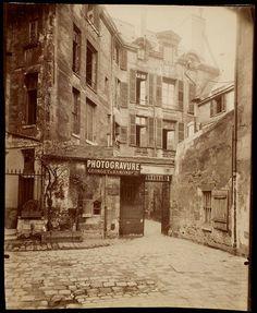Photogravure Georget et Ramond, Paris. Eugène Atget