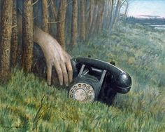 mike worrall arte surrealista