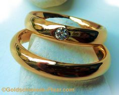Trauringe aus Altgold  Weddingrings from old gold