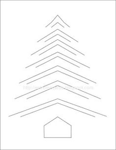 Paper tree template pop up ideas Christmas Tree Paper Craft, Lace Christmas Tree, Christmas Tree Template, Christmas Door, Holiday Crafts, Card Making Templates, Tree Templates, Origami Templates, Fancy Fold Cards