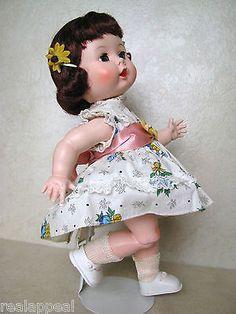 "Vintage Mint Condition 1950's 11"" Hard Plastic R&B Arranbee Littlest Angel Doll"