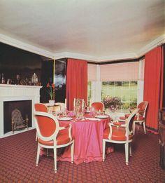 david hicks dining room