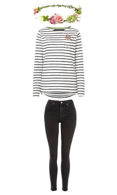 """""""Barnehage outfit 3"""" by pippahoel on Polyvore featuring Topshop and Forever 21"""