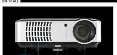 Rigal RD-806 LCD HD 1080P LED Portable Projector 1280x800 2800 Lumens HDMI VGA Home Theater Portable Projector, Computer Network, Business Education, Office And School Supplies, Laptop Accessories, Hd 1080p, Home Theater, Led, Home Theaters