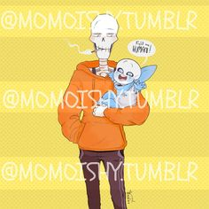 Underswap // Blueberry Sans and Papyrus