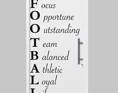 Are You Ready for Some Football decal boys room by SportsVinyl