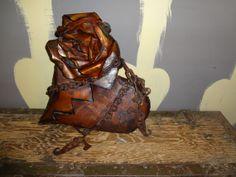 Metal Art  Steampunk Brutalist Modernist by TheBeardedWelder, $4979.00