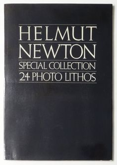 Special Collection 24 Photo Lithos | Helmut Newton