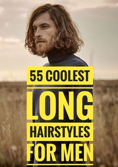 55 Coolest Long Hairstyles for Men Update) - Men Hairstyles World Mens Hairstyles Fade, Boys Long Hairstyles, Undercut Hairstyles, Loose Hairstyles, Haircuts For Men, Lomg Hair, How To Fade, Pompadour Fade, Medium Hair Styles
