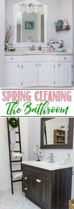 Bathroom Spring Clea