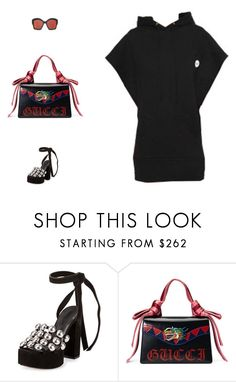 """""""Untitled #2145"""" by stylespot ❤ liked on Polyvore featuring Alexander Wang and Gucci"""