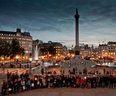 Trafalgar Square-take me back.
