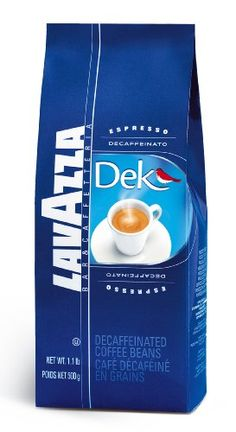 Lavazza Dek Decaf Whole Bean Espresso, 1.1-Pound Bag - http://www.teacoffeestore.com/lavazza-dek-decaf-whole-bean-espresso-1-1-pound-bag/