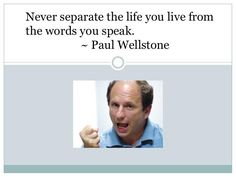 Paul Wellstone ~ never separate your life from your words (RIP 10/25/02 ~ 10 years ago)