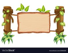 Find Wooden Nature Blank Board Illustration stock images in HD and millions of other royalty-free stock photos, illustrations and vectors in the Shutterstock collection. Thousands of new, high-quality pictures added every day. Frame Border Design, Boarder Designs, Page Borders Design, Deco Jungle, Powerpoint Background Design, Jungle Theme Birthday, Boarders And Frames, Classroom Birthday, Framed Wallpaper
